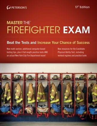 Peterson's Master the Firefighter Exam
