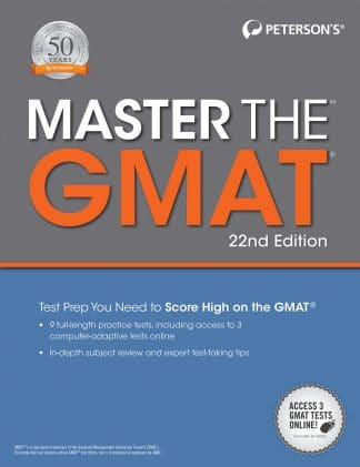Peterson's Master the GMAT