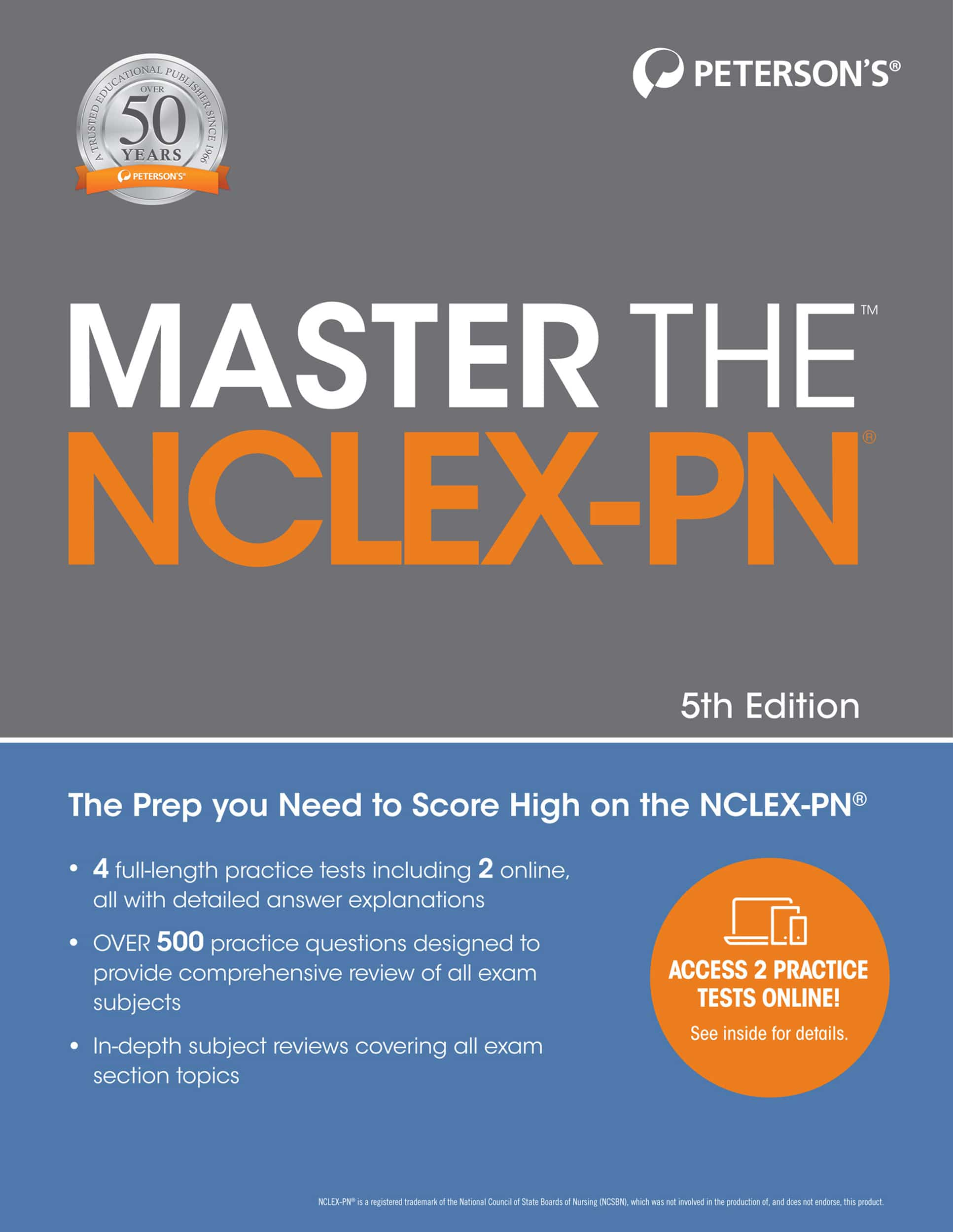 Master The Nclex Pn Petersons Test Prep