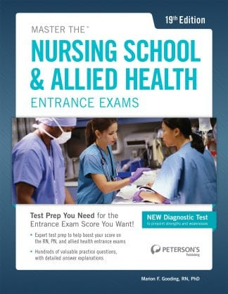 Peterson's Nursing School & Allied Health Entrance Exams