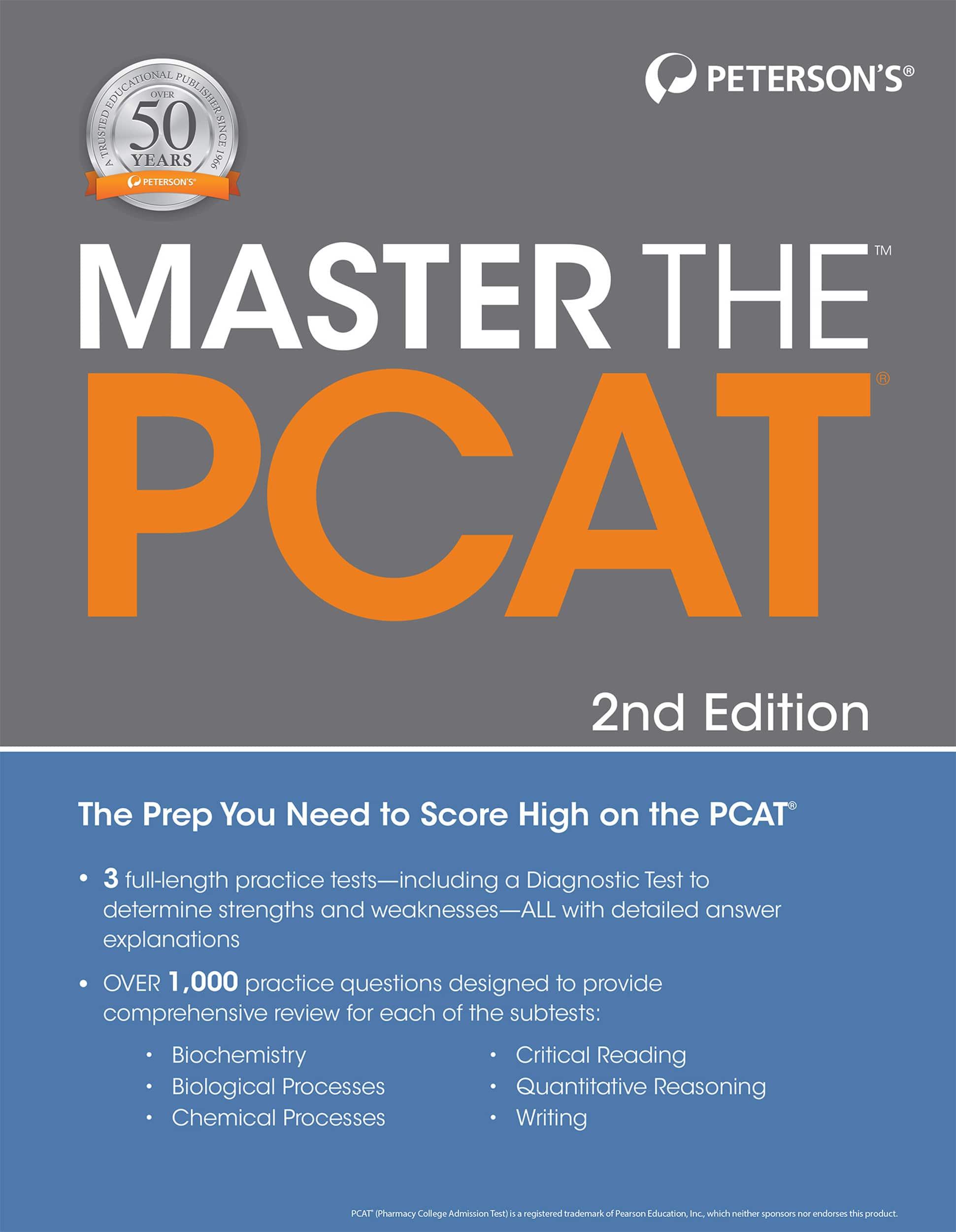 Master the™ PCAT