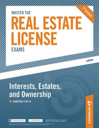 Peterson's Master the Real Estate License Exams
