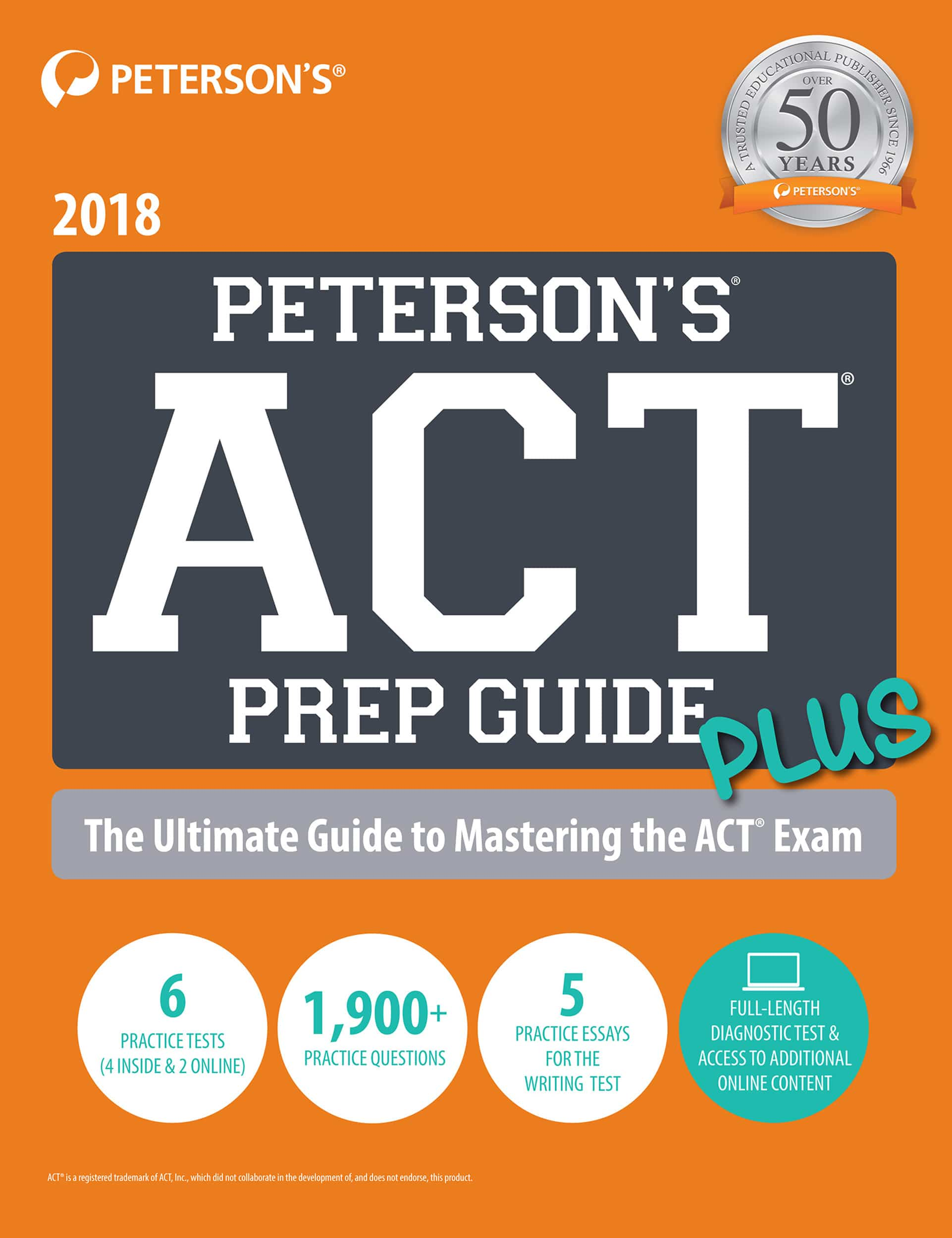 ACT Prep Guide Plus