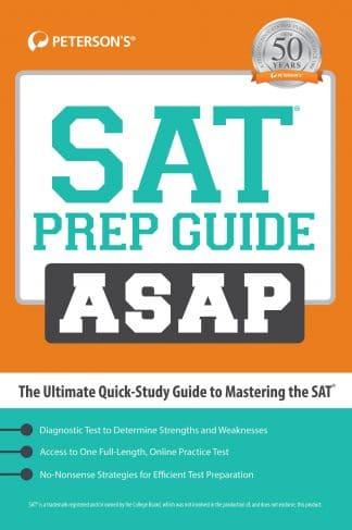 Peterson's SAT Prep Guide ASAP