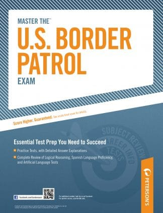 Peterson's Master the U.S. Border Patrol Exam