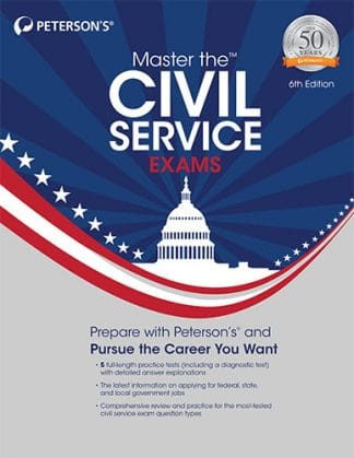Peterson's Master the Civil Service Exams 6th Edition